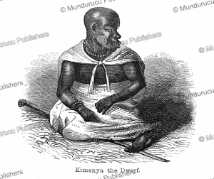 Kimenya the Dwarf, servant of King Kamrasi, Uganda, Captain Grant, 1863 | Photos and Images | Digital Art