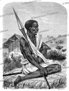 Black of Uganda, Gustav Boulanger, 1860   Photos and Images   Digital Art
