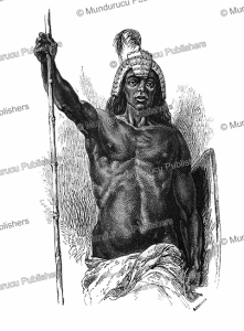 Chief of a Lira tribe, Uganda, Alphonse de Neuville, 1867 | Photos and Images | Digital Art