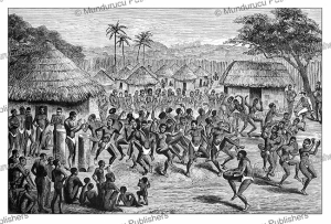 The Great Dance at Chibinga, Malawi, J.D. Cooper, 1887 | Photos and Images | Digital Art
