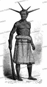 A native of Rua, Ujiji in Tanzania, E. Ronjat, 1878 | Photos and Images | Digital Art
