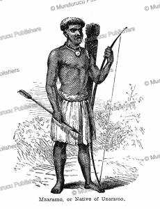 Mazaramo or native of Uzaramo, Tanzania, Captain Grant, 1863   Photos and Images   Digital Art