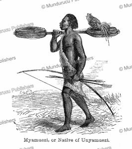 Myamuezi or native of Unyamuezi (Tanganyika), Tanzania, Captain Grant, 1863 | Photos and Images | Digital Art