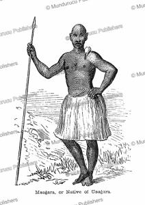A native of Usagara, Tanzania, Captain Grant, 1863 | Photos and Images | Digital Art