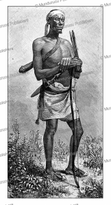Abgaal warrior of Somalia, E. Ronjat, 1885 | Photos and Images | Digital Art