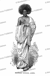 A Somali native from Aden in Yemen, Brassey, 1880 | Photos and Images | Digital Art