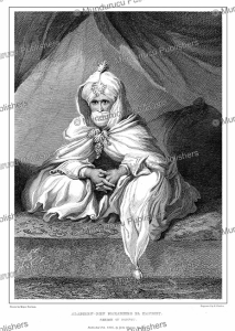 the sheikh of bornu, major denheim, 1826