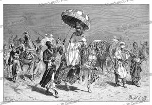 Sheik Umar I ibn Muhammad al-Amin of Bornu (died 1881), now Chad, Pranishnikoff, 1880 | Photos and Images | Digital Art