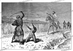 doctor nachtigal saves a slave in bornu (chad), pranishnikoff, 1880