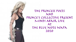 the princess poets and prince's collective present mindi abair live at the blue note napa 2020