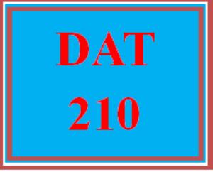 DAT 210 Week 4 Process Files using Ruby (2020 New) | eBooks | Education
