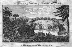 A Hottentot village, Richard Phillips, 1810 | Photos and Images | Digital Art