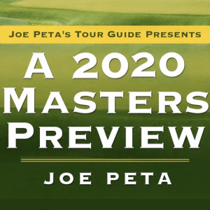 Masters Preview - 2020 Addendum | eBooks | Sports