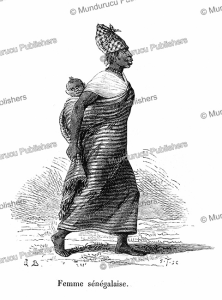 Senegal woman from Gabon (French Congo), M. Breton, 1875 | Photos and Images | Digital Art