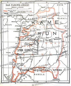 German map of the Fang area in French Equatorial Africa, Gu¨nter Tessmann, 1905 | Photos and Images | Digital Art