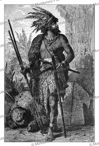 Fang people, also known as Fan or Pahouin from Equatorial Guinea, Franz Keller-Leuzinger, 1880   Photos and Images   Digital Art