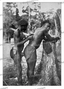 Scarification of a Fang man in Gabon, Gu¨nter Tessmann, 1905   Photos and Images   Digital Art