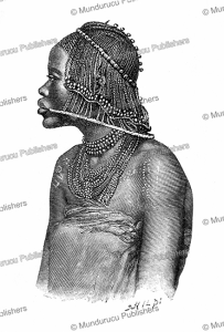 Woman of the Quissama tribe in Angola, E. Ronjat, 1893 | Photos and Images | Digital Art