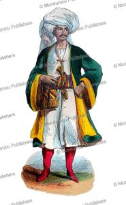 a man from bukhara in uzbekistan, mercier, 1844
