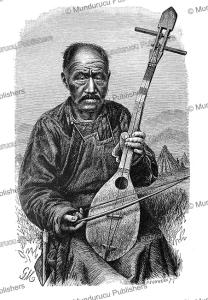 Kyrgyz (Kirghiz) musician, Gustav Mu¨tzel, 1885 | Photos and Images | Digital Art