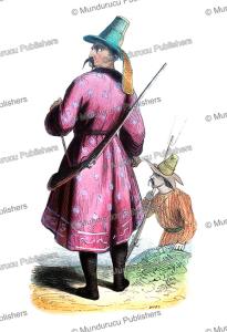 kyrgyz (kirghiz) man, doms, 1844