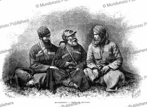 Mingrelians of Georgia, Pranishnikoff, 1887 | Photos and Images | Digital Art
