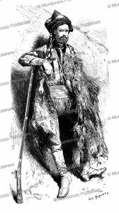 Armed man of Gori in Georgia, the Caucasus, E. Burnand, 1884 | Photos and Images | Digital Art