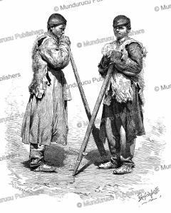 Svans from the Tskhenis valley in Georgia, Pranishnikoff, 1887 | Photos and Images | Digital Art