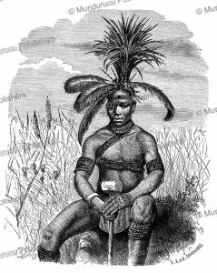 zulu sorcerer, gustav mu¨tzel, 1885
