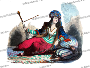 Persian lady, Pannemaker and Lisbet, 1844 | Photos and Images | Digital Art
