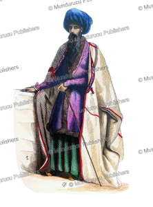 Persian priest or mullah, Auguste Wahlen, 1844 | Photos and Images | Digital Art