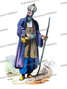 Persian dervish, Iran sufi costume, L. Delelie, 1844 | Photos and Images | Digital Art