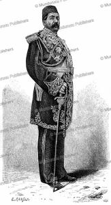 Saadouk Khan, military leader of Shiraz in Persia, E. Ronjat, 1884 | Photos and Images | Digital Art