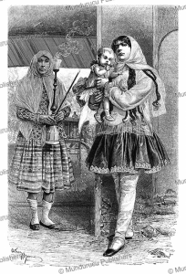 A Muslim nanny in Teheran, Persia, Adrien Marie, 1884 | Photos and Images | Digital Art