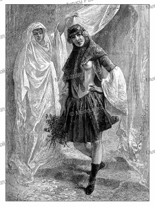 The Persian beauty Ziba Khanoum, Emile Bayard, 1883 | Photos and Images | Digital Art