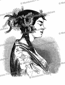 Hair style for Tahitian women, L'Illustration, 1848 | Photos and Images | Digital Art