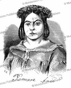 Queen Pomare´ of Tahiti, L'Illustration, 1848 | Photos and Images | Digital Art