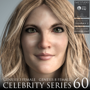 Celebrity Series 60 for Genesis 3 and Genesis 8 Female | Software | Design