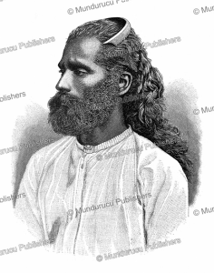 Sinhalese man of Ceylon (Sri Lanka), Wilhelm Sievers, 1892 | Photos and Images | Digital Art