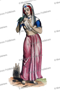 Young girl from the Himalaya mountains, H. Hendrickx, 1843 | Photos and Images | Digital Art