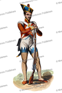 Hindu soldier, H. Hendrickx, 1843 | Photos and Images | Digital Art