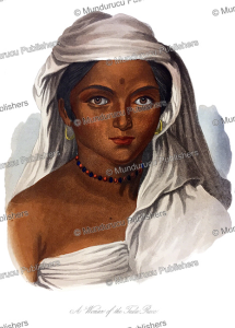 Beautiful woman of the Tuda race (Toda), Tamil, James Cowles Prichard, 1845 | Photos and Images | Digital Art