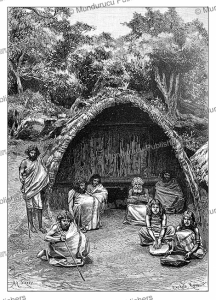 Family of Toda, Tamil country, India, Achille Sirouy, 1883   Photos and Images   Digital Art