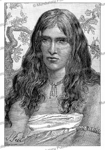 Toda woman, India, P. Fritel, 1883   Photos and Images   Digital Art