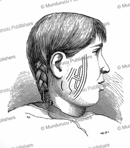 tattoo pattern for chuckchi women of st. lawrence island, w. meyer xa, 1883