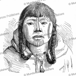 traditional tattoo pattern for chukchi women, w. meyer xa, 1883