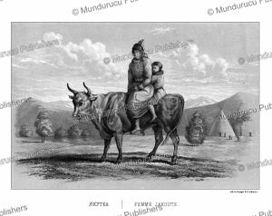 yakut woman, ivan dem'ianovich bulychev, 1856