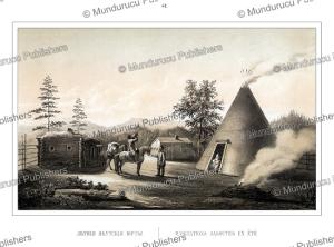 yakut summer residence, ivan dem'ianovich bulychev, 1856