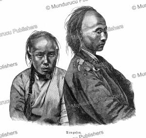 tungus people, wilhelm sievers, 1893