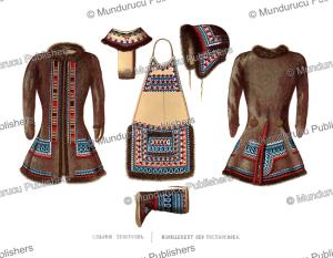tungus clothing, ivan dem'ianovich bulychev, 1856